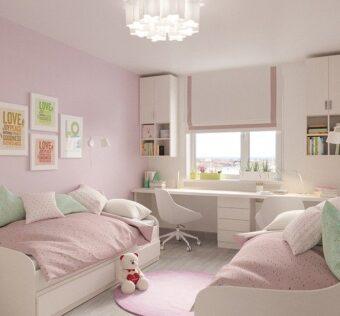 belle chambre de bébé bien rangée